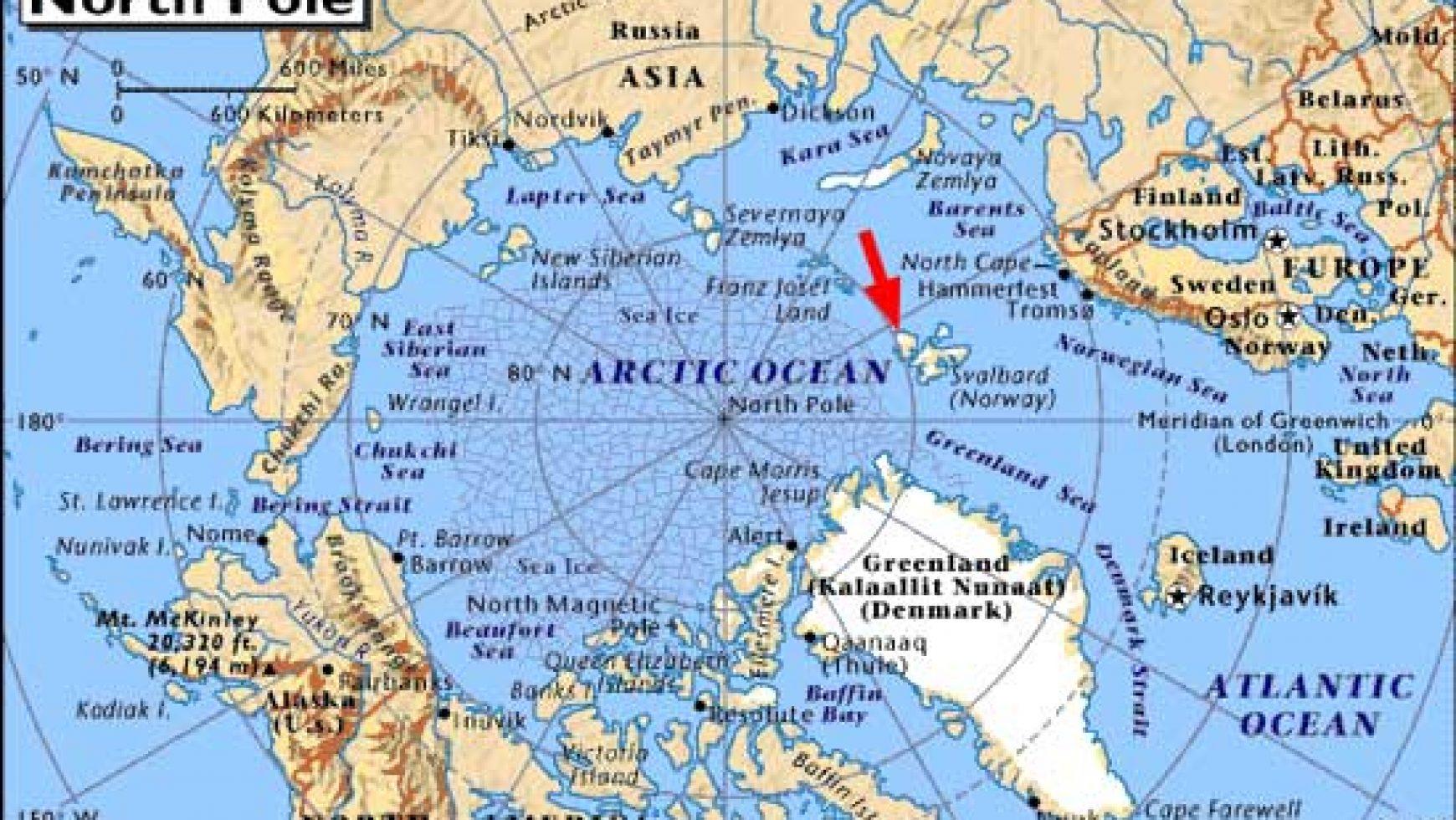 Aardeheling Spitsbergen