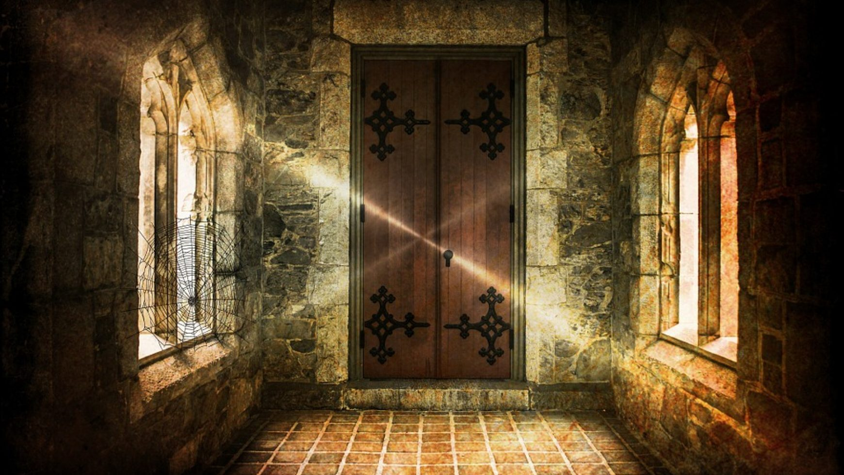 De deur is dicht