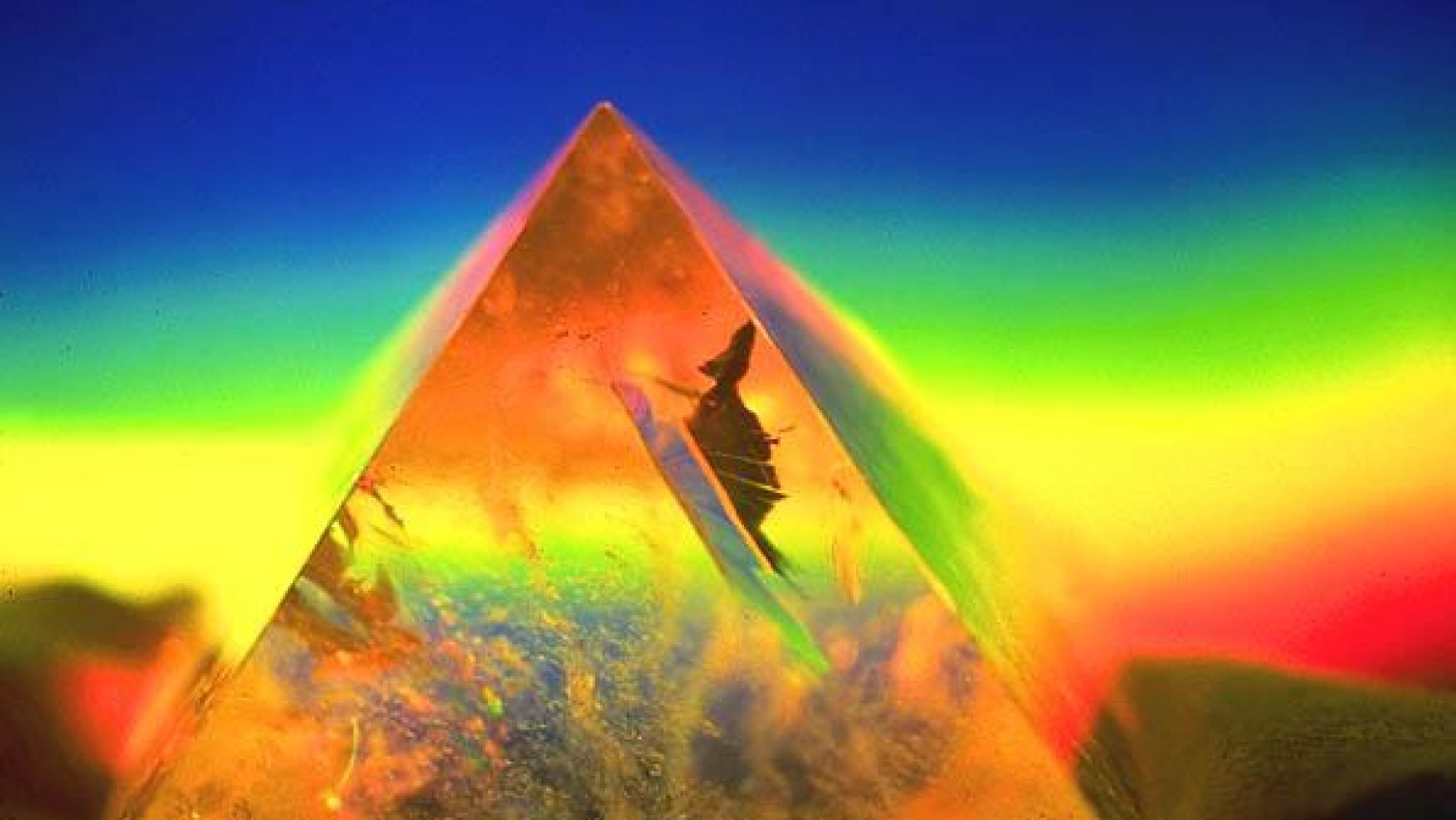 De zingende piramides van Mu