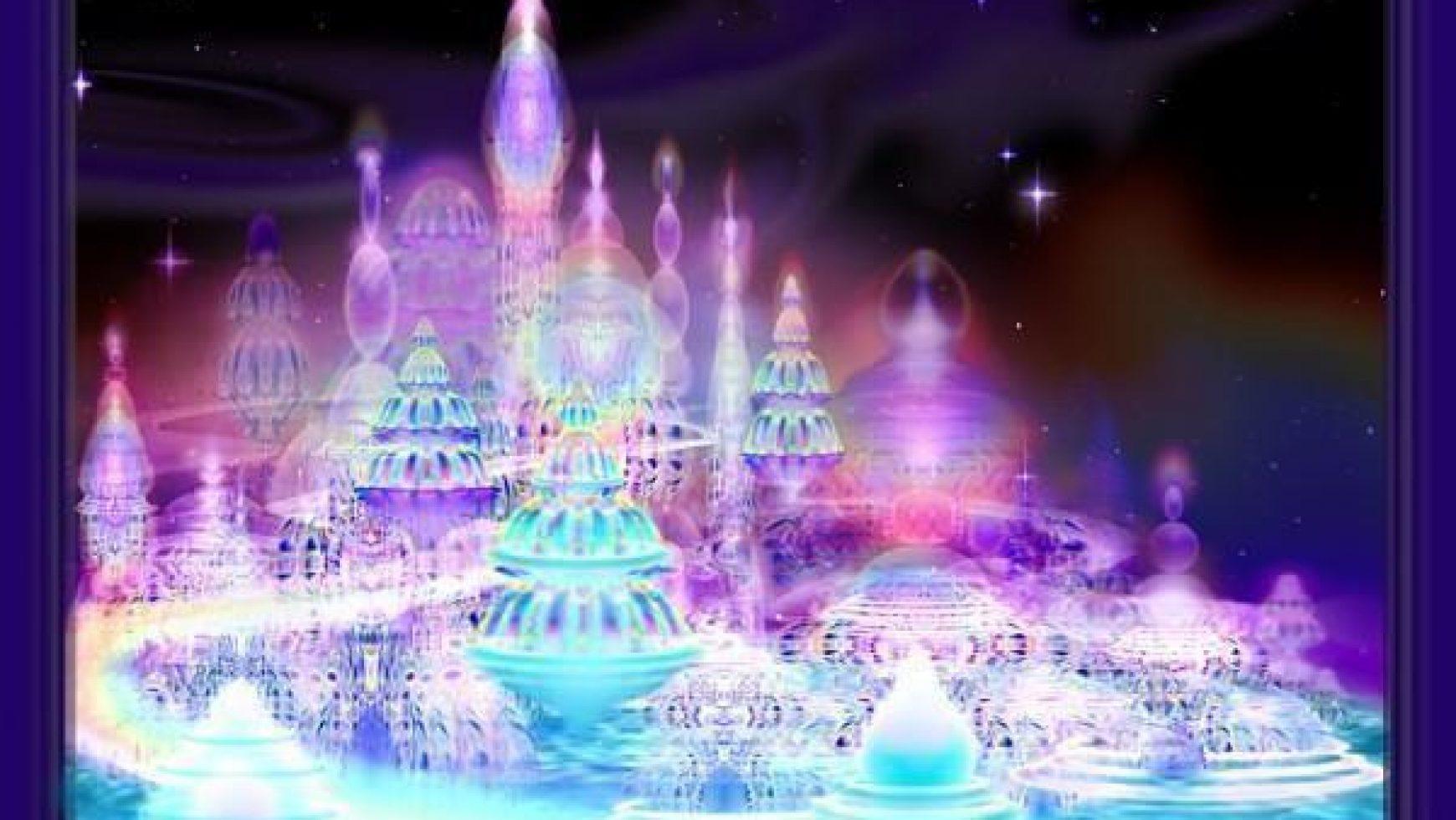 De aansluiting op het universele kristal