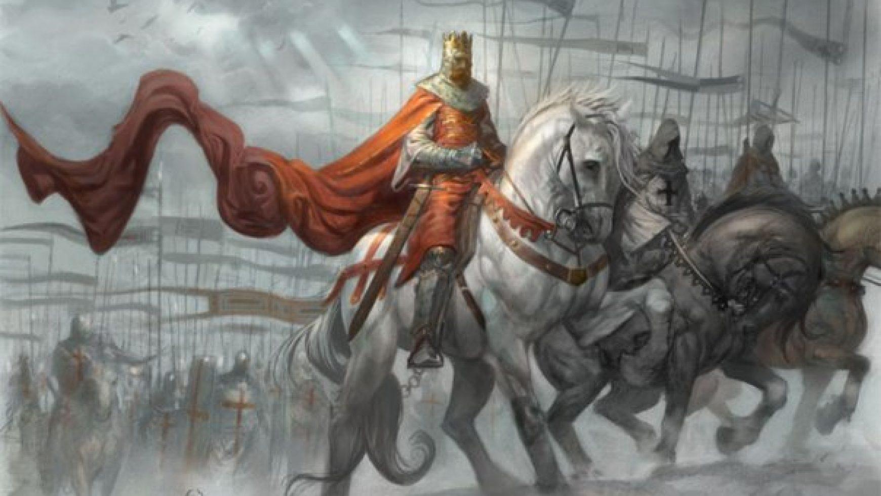 De witte kruisridders