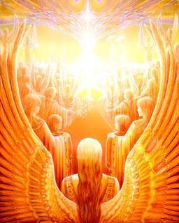 Witgouden trappen naar de hemel
