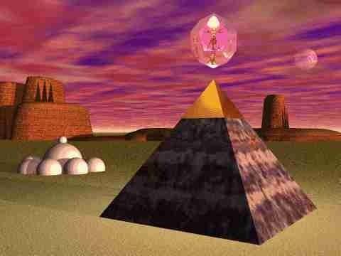 Aktivatie van de Piramide Zonnepoort