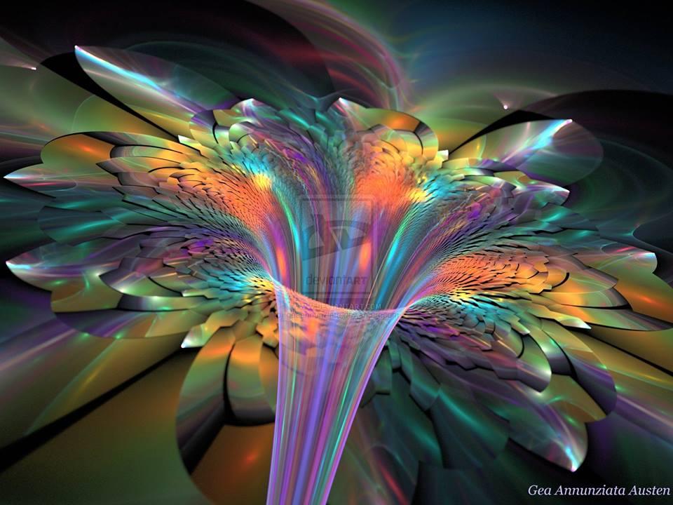 De dauwdruppel en de zeven kleuren