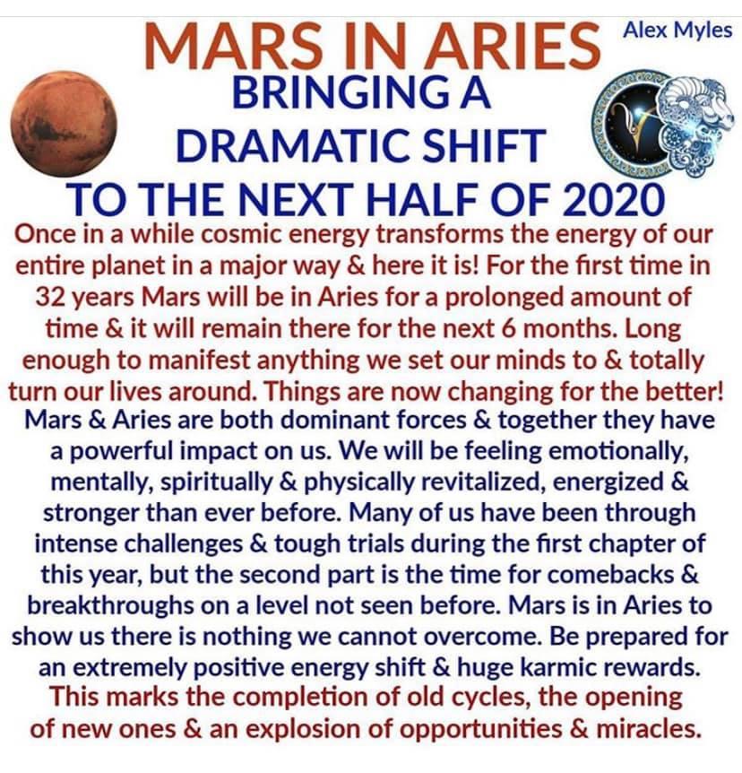 Mars in Ram.